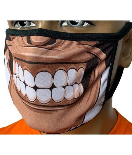 Maska Miejska Sublimowana W1