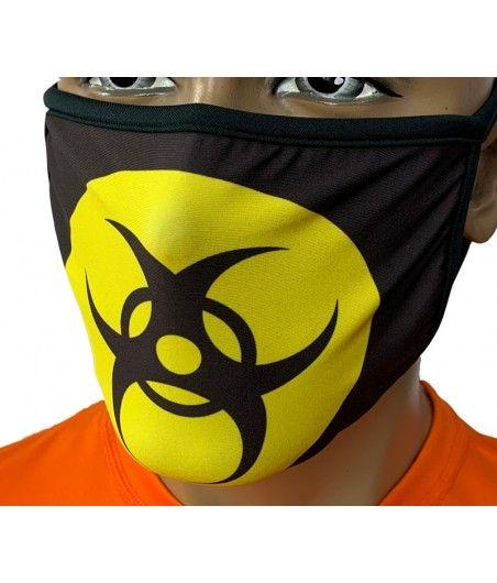 Maska miejska sublimowana W4