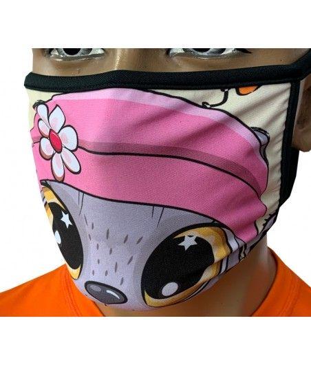 Maska miejska sublimowana W8