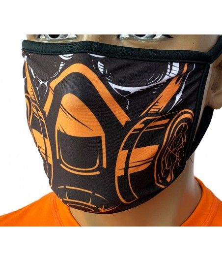 Maska miejska sublimowana W9