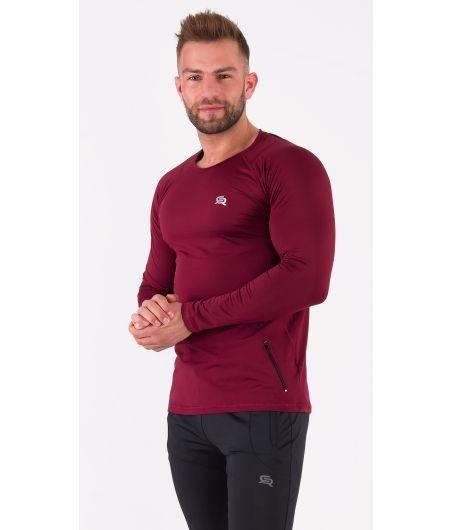 Męska koszulka szybkoschnąca VITAL ZIP LS
